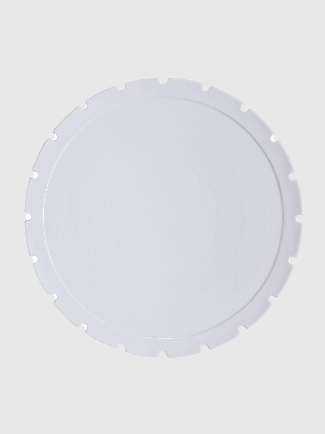 Diesel - 10993 MACHINE COLLEC, Blanc - Assiettes - Image 1