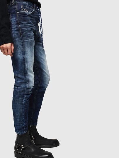 Diesel - D-Vider JoggJeans 069KD, Bleu Foncé - Jeans - Image 4