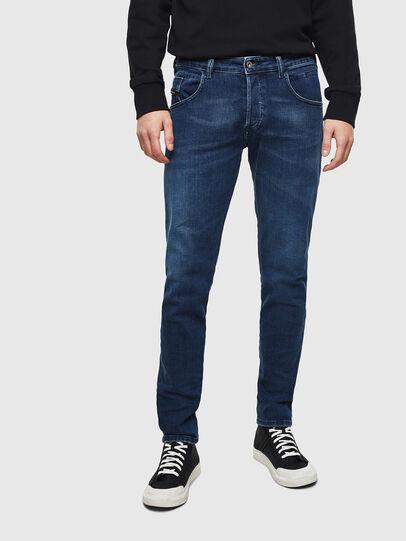 Diesel - D-Bazer 0095T, Bleu Foncé - Jeans - Image 1