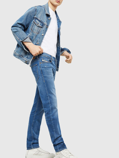 Diesel - Buster 083AX, Bleu Clair - Jeans - Image 5