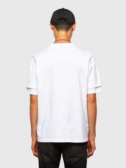Diesel - T-FONTAL, Blanc - T-Shirts - Image 2