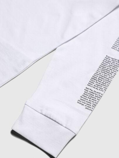 Diesel - TJUSTLS-NEW, Blanc - T-shirts et Hauts - Image 4