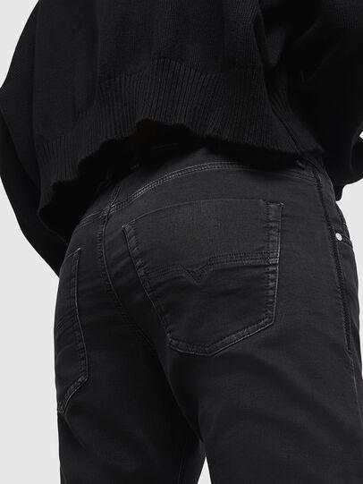 Diesel - Krailey JoggJeans 0687Z, Noir/Gris foncé - Jeans - Image 4