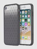 MOHICAN HEAD DOTS BLACK IPHONE 8 PLUS/7 PLUS/6s PLUS/6 PLUS CASE, Noir - Coques