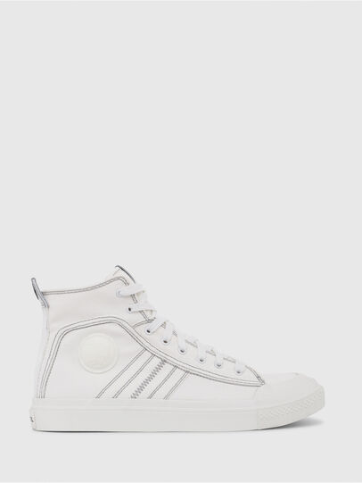 Diesel - S-ASTICO MID LACE, Blanc - Baskets - Image 1