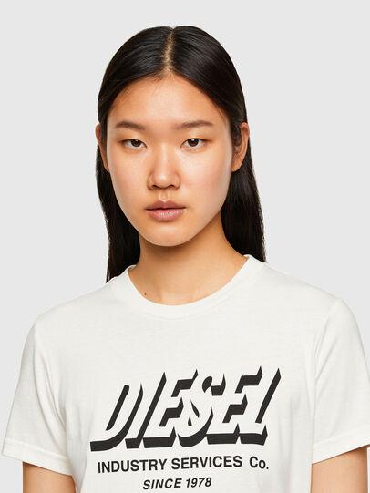 Diesel - T-SILY-R4, Blanc - T-Shirts - Image 3
