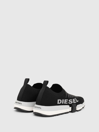 Diesel - H-PADOLA LOW SOCK, Noir - Baskets - Image 3