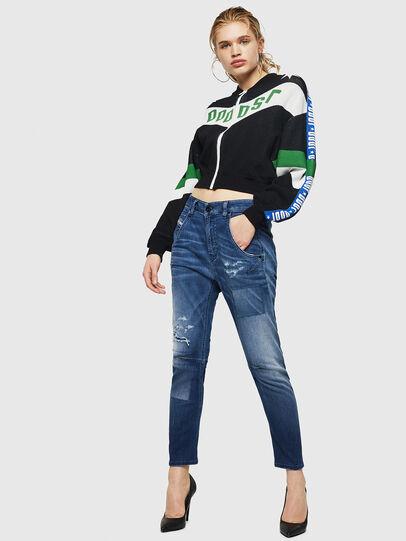 Diesel - Fayza JoggJeans 069HB, Bleu moyen - Jeans - Image 7