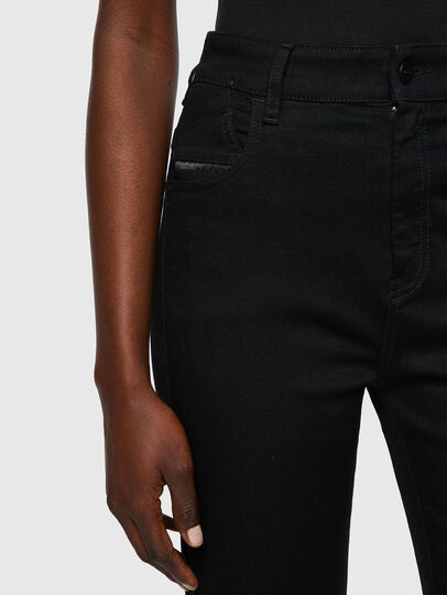 Diesel - Slandy High 069EF, Noir/Gris foncé - Jeans - Image 3