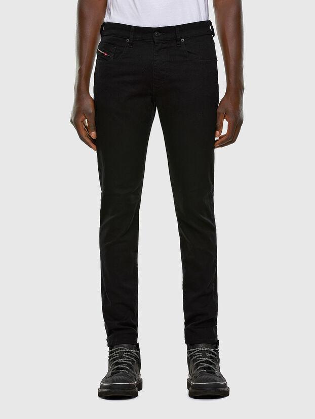 D-Strukt 0688H, Noir/Gris foncé - Jeans