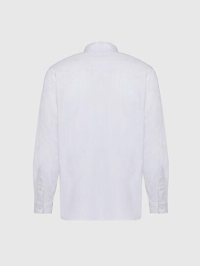 Diesel - S-JAMES, Blanc - Chemises - Image 2