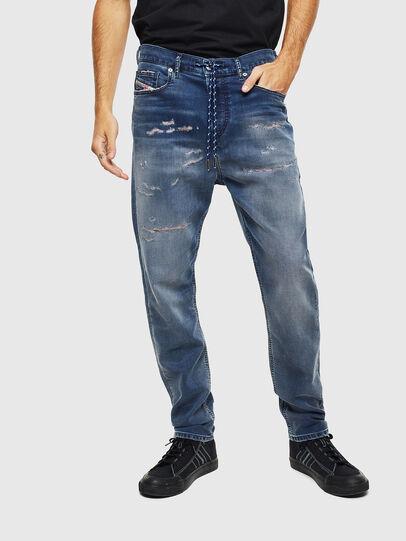 Diesel - D-Vider JoggJeans 069LW, Bleu Foncé - Jeans - Image 3