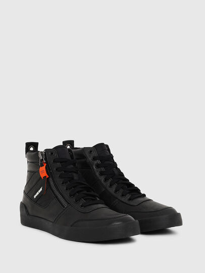 Diesel - S-DVELOWS, Noir - Baskets - Image 2