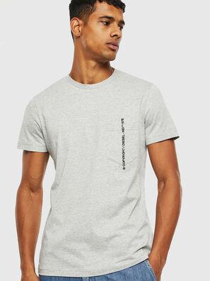 T-RUBIN-POCKET-J1, Gris - T-Shirts