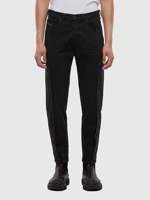 D-Vider 009LA, Noir/Gris foncé - Jeans