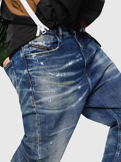 Diesel - D-Vider JoggJeans 0870Q, Bleu moyen - Jeans - Image 3