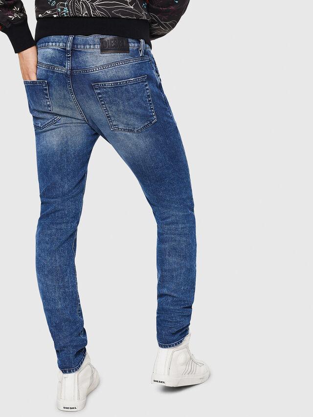 Diesel - D-Strukt 081AQ, Bleu moyen - Jeans - Image 2