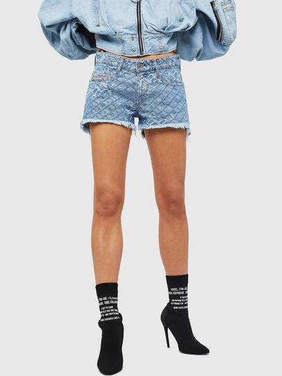 Diesel - DE-RIFTY, Bleu Clair - Shorts - Image 1