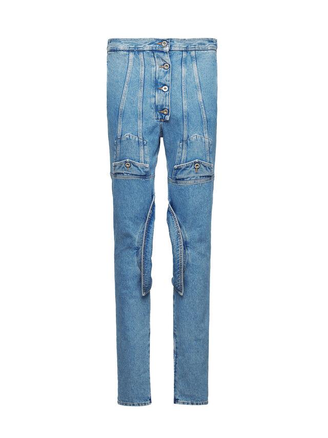 Diesel - SOJP01, Bleu Clair - Pantalons - Image 1