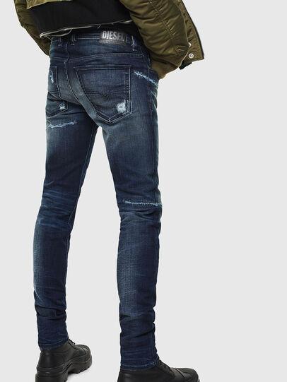 Diesel - Sleenker 0097P, Bleu Foncé - Jeans - Image 2