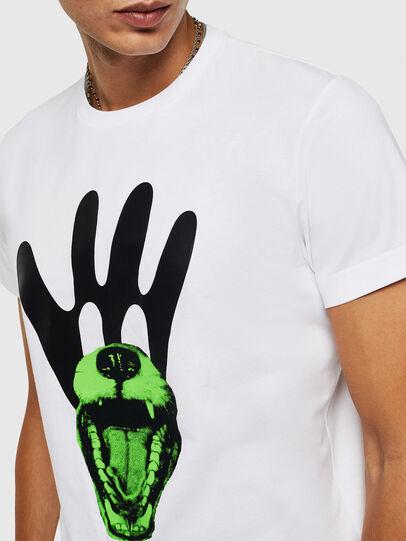 Diesel - T-DIEGO-B18, Blanc - T-Shirts - Image 3