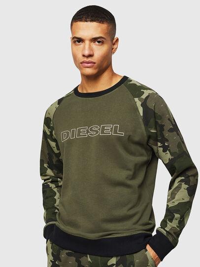 Diesel - UMLT-MAX, Vert Camouflage - Pull Cotton - Image 1