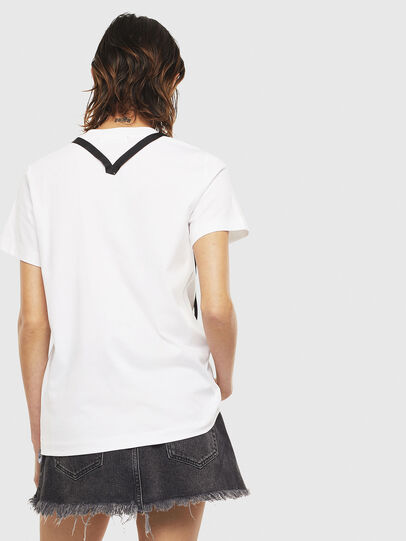 Diesel - T-SILY-S3, Blanc - T-Shirts - Image 2