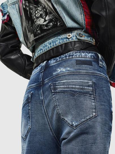 Diesel - Fayza JoggJeans 0096M, Bleu Foncé - Jeans - Image 4
