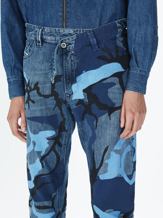 Diesel - SOPKN01, Bleu Chiné - Jeans - Image 5