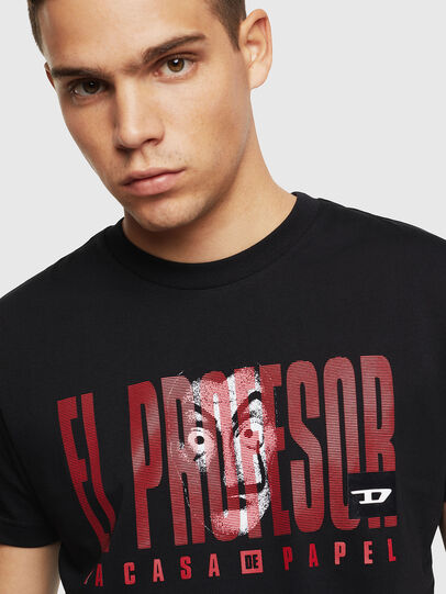 Diesel - LCP-T-DIEGO-ELPROFES, Noir - T-Shirts - Image 5