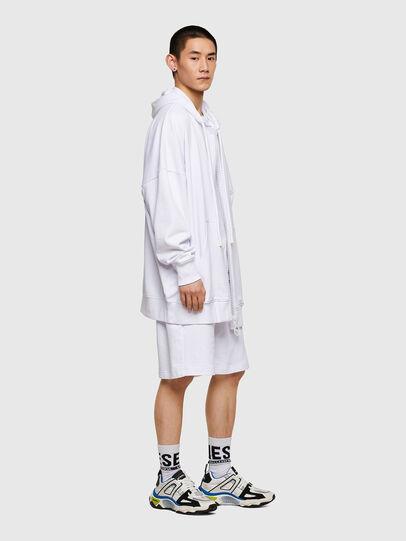 Diesel - P-HORTY, Blanc - Shorts - Image 4