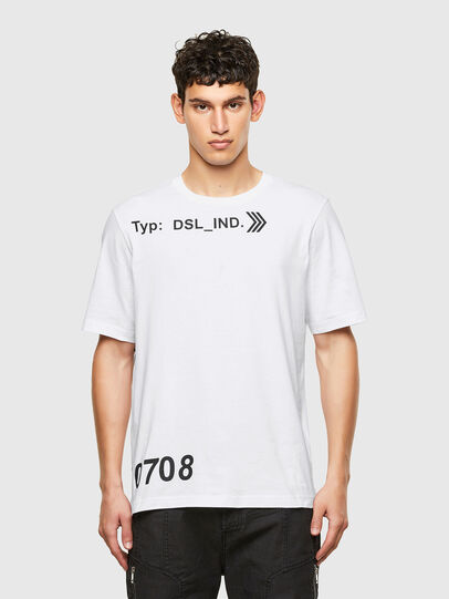 Diesel - T-JUST-A42, Blanc - T-Shirts - Image 1