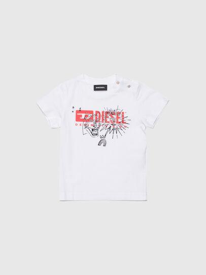 Diesel - TUDARIB, Blanc - T-shirts et Hauts - Image 1