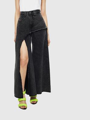 D-Izzier 0KAXA, Noir/Gris foncé - Jeans