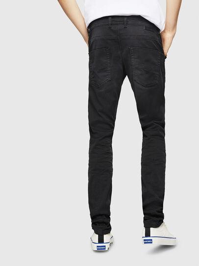 Diesel - Krooley Long JoggJeans 0670M, Noir - Jeans - Image 2