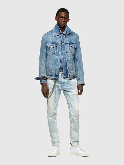 Diesel - D-Strukt 009TN, Bleu Clair - Jeans - Image 6