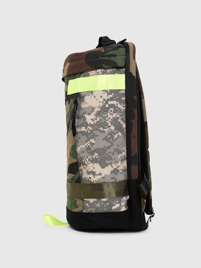 Diesel - PIEVE, Vert Camouflage - Sacs à dos - Image 3