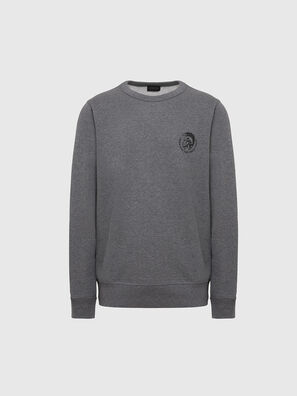 UMLT-WILLY, Gris Chiné - Pull Cotton