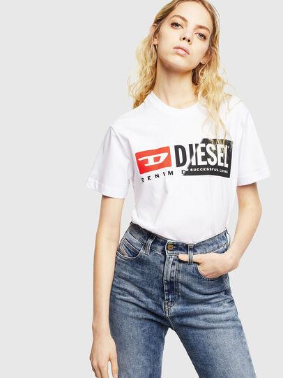 Diesel - T-DIEGO-CUTY, Blanc - T-Shirts - Image 6