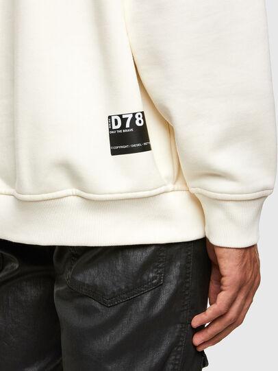Diesel - S-UMMER-N74, Blanc - Pull Cotton - Image 4