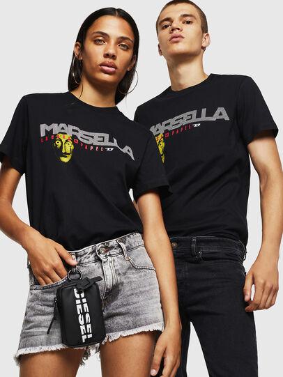 Diesel - LCP-T-DIEGO-MARSELLA, Noir - T-Shirts - Image 6