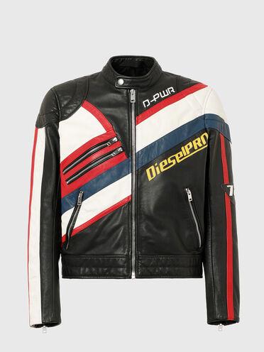 Veste de motocross en cuir