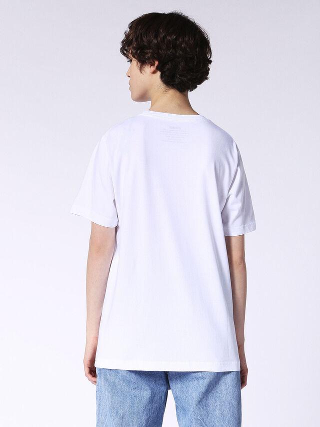 T-JUST-SO-FL, Blanc
