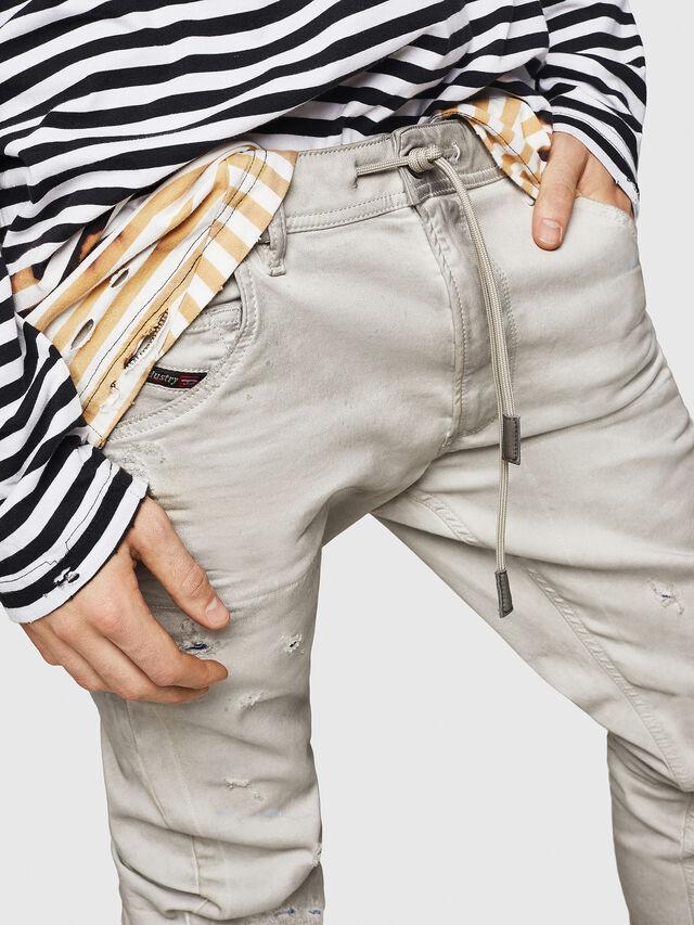 Diesel - Krooley JoggJeans 069GT, Gris Clair - Jeans - Image 3