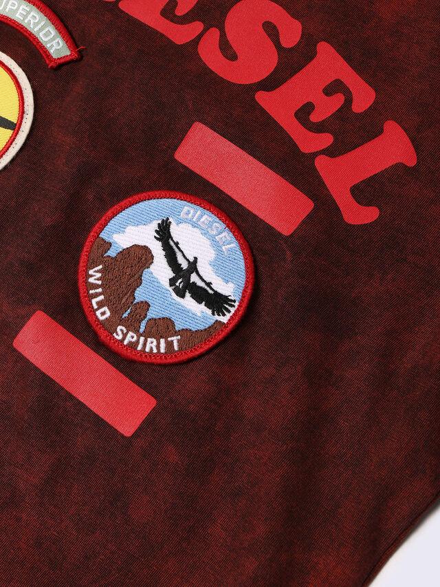 Diesel - TIFFOR, Bordeaux - T-shirts et Hauts - Image 3