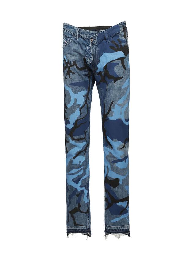 Diesel - SOPKN01, Bleu Chiné - Jeans - Image 1