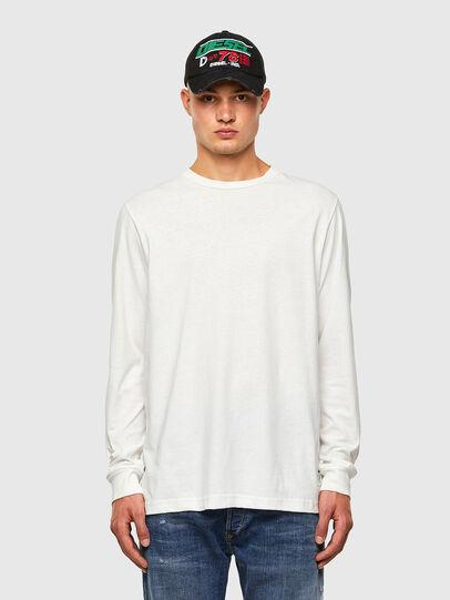 Diesel - T-JUST-LS-MOHI, Blanc - T-Shirts - Image 4