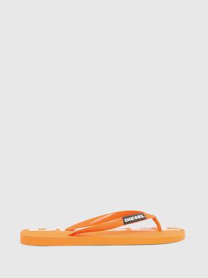 SA-BRIIAN, Orange - Claquettes