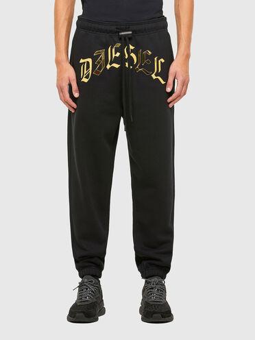 Pantalon de survêtement avec imprimé métallisé