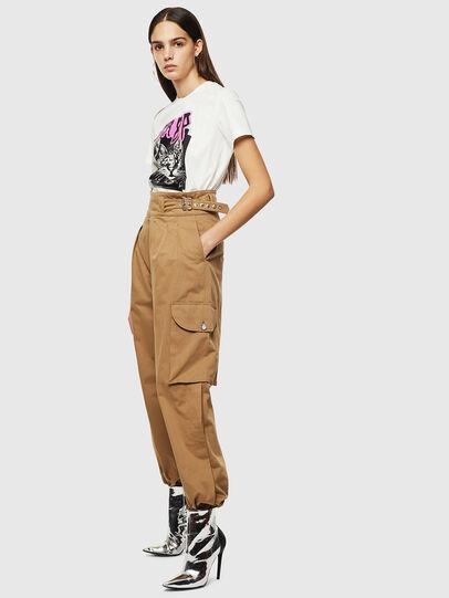 Diesel - P-CHIKU, Marron Clair - Pantalons - Image 7